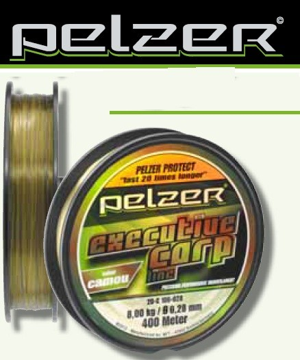PELZER EXECUTIVE CARP LINE 1200m 0,40mm CAMOU