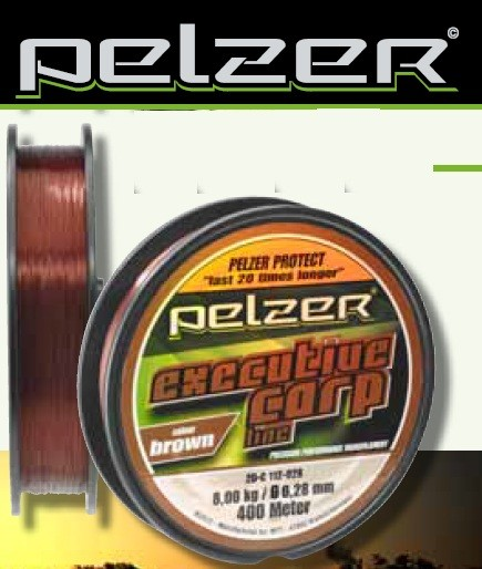 PELZER EXECUTIVE CARP LINE 1200m 0,28mm BROWN