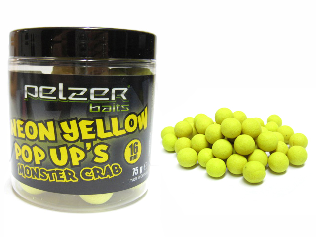 Pelzer Neon Pop-UP Monster Crab 16mm
